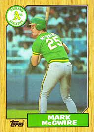 We did not find results for: Amazon Com 1987 Topps 366 Mark Mcgwire Baseball Card 1st Card In An Oakland Athletics Jersey Collectibles Fine Art