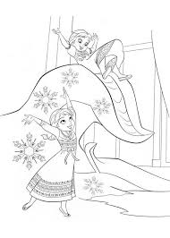 Anna E Elsa Da Piccole Disegni Da Colorare Gratis Disegni Da