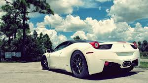 Tons of awesome ferrari car wallpapers to download for free. Download White Ferrari Car Wallpaper 45127 1920x1080 Px High Definition Wallpaper