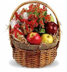 fruit gift baskets health nut basket