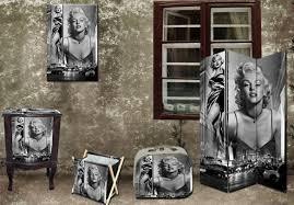 Marilyn Monroe Who Said Nights Were For Sleep Wall Decal Decor Marilyn Monroe Living Room Decor