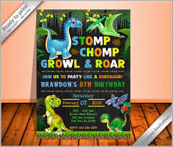free dinosaur party invitations 50 off sale cute dinosaurs party birthday invitation