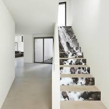 Stairway Wallpaper Design Amazon Com Bwg 13 Pcs Waterfall Diy Self Adhesive Floor