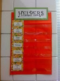 Classroom Helpers Pocket Chart My Classroom Jobs Chart It Was Made With A Pocket Chart
