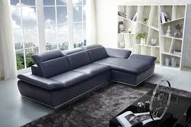 Size Leather Sectional Sofa