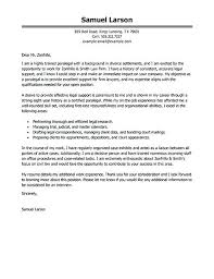 Sample Cover Letter For Paralegal Paralegal Cover Letter Cover