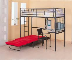 Loft Bedroom For Adults Adult Loft Bed With Desks A Solution To Optimize The Space