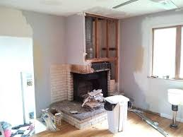 how to remove a fireplace and chimney the chimney on the roof has been removed and