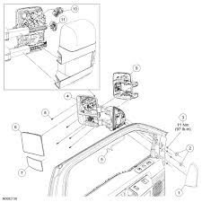 2008 ford f350 mirror wiring diagram wiring diagrams how to remove side view mirror marker lights 2008 f350