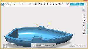 123d Design Basics 123d Design Tutorial Basics Exercise 2 Rowboat