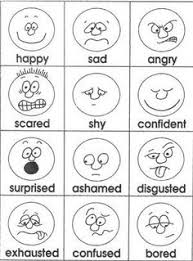 Small Picture Emotions Preschool emotions Pinterest English Worksheets