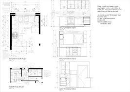 Autocad For Kitchen Design Kitchen Design Layout Floor Archicad Cad Autocad Drawing Plan 3d