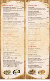 meat restaurant baku menu