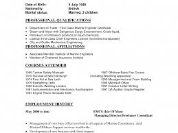 Marine Engineer Resume Eliolera Com
