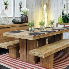 Dining Room Tables With A Bench New Decorating Ideas