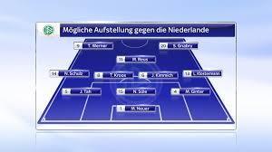 Ganz im gegenteil soll dieser neue wettbewerb die belastung sogar. Deutschland Vs Niederlande Mogliche Aufstellungen In Der Em Qualifikation Fussball News Sky Sport