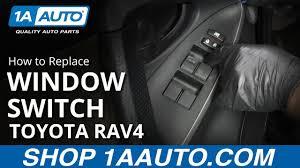 How to Replace <b>Master Power Window Switch</b> 05-16 Toyota RAV4 ...