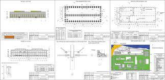 Проект промышленного здания скачать Чертежи РУ Курсовой проект Промышленное здание Формовочный цех завода железобетонных изделий и конструкций г