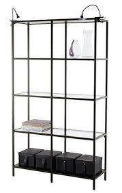 brilliant design ikea glass shelves vittsj shelf unit collection