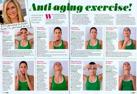 anti aging facial exercises