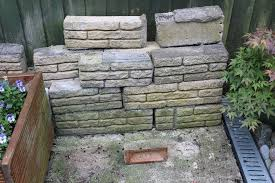decorative garden stone cotswold stone wall look a like