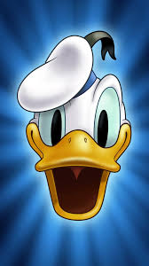 Cute Cartoon Donald Duck Face iPhone 6 ...