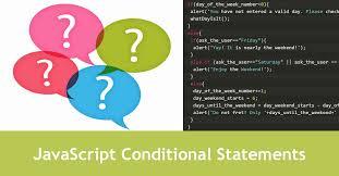 javascript conditional statements tutorial