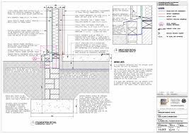 cladding wall foundation details cladding wall foundation details