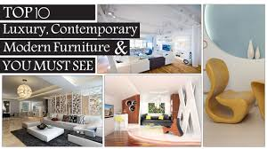 Top 10 Luxury, Creative, Contemporary & Modern Furniture Design You Must  See - YouTube
