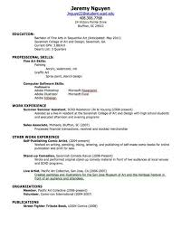 How To Make A Resume For First Job Inspiration How To Make Resume For First Job High 28 Archaicawful A Templates