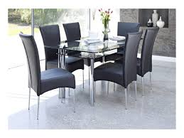 bathroom breathtaking black glass dining table set 20 4 seater for chairs round and circular