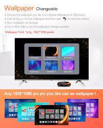 VONTAR X3 Android 9.0 TV BOX Amlogic S905X3 4GB 128GB 64GB 32GB