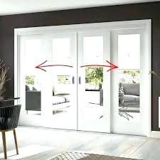french doors with glass panels interior patio home sliding panel 3 door replacement