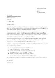 Academic Cover Letter Format Cover Letter With Application Form