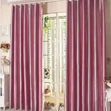 sweet pink polyester thick fabric insulated thermal blackout lining thick thermal lined curtains