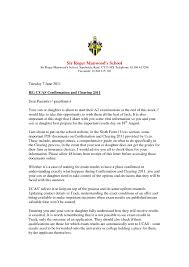 Confirmation Palanca Letter Cover Letter Example