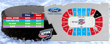 Evansville Thunderbolts Seating Charts