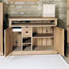 hidden home office. solid oak hidden home office - mobel e