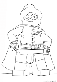 Small Picture lego batman robin Coloring pages Printable