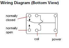 how to wire a relay let's make robots! robotshop 16 Pin Relay Wiring Diagram here's the schematic referenced, with some added labels the top left contact is the position the switch is in when the relay coil is not passing current 30 Amp Relay Wiring Diagram