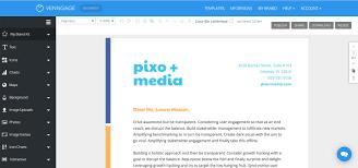 Design Your Own Letterhead Free Online Letterhead Maker Professional Templates Venngage