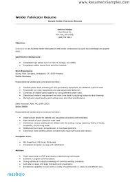 Welder Resume Unique Welding Resumes Examples Fresh College Admission Resume Template