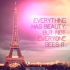 Confucius Beauty Quote Best Of Everything Has Beauty Confucius Wisdom Quote Facebook Wall Pic