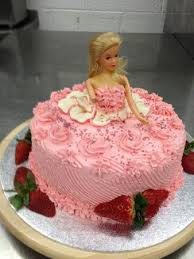 Barbie Birthday Cake Picture Of Cossack Cuisine Sheffield