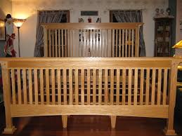 Mission Style Living Room Set Red Oak King Size Mission Style Bed Finewoodworking