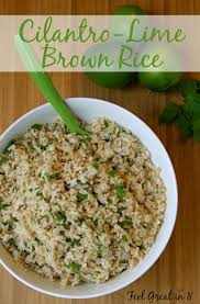 this cilantro lime brown rice is so fresh and delicious quick and easy to make