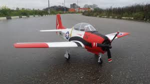 <b>Радиоуправляемый самолет</b> Eleven Hobby T-28 Trojan - YouTube