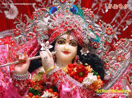 Sri Krishna 3D Wallpaper for mobile ...