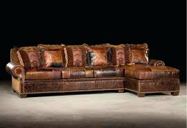 rustic leather sectional. Interesting Sectional Rustic Leather Sofa Sectional Sofas Reclining  Distressed Couch Farmhouse Throughout Rustic Leather Sectional C