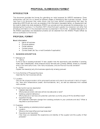 Writing A Proposal Example Printable Sample Business Proposal Form Forms And Template